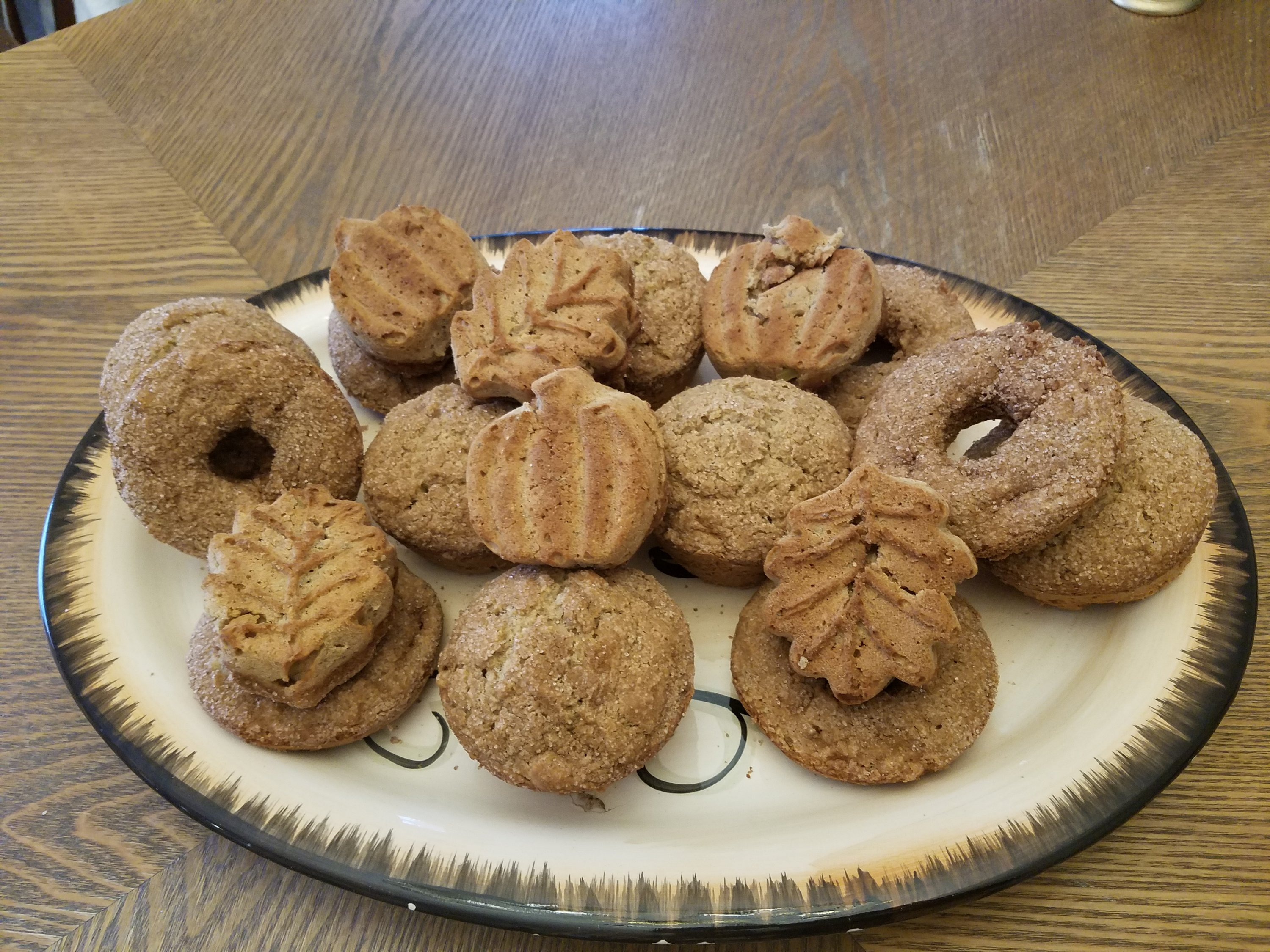 GF Apple Snickerdoodle Muffins/Donuts