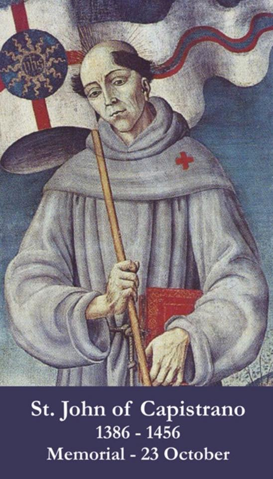 SOTD 10.23.18: Saint John ofCapistrano